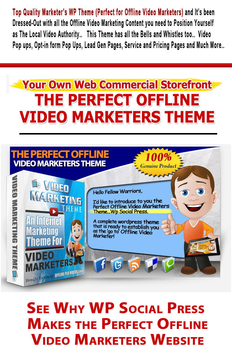 Video Marketing Theme